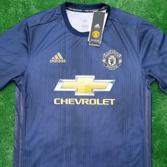 9b1007394 18 19 Manchester United 3rd kit soccer jersey